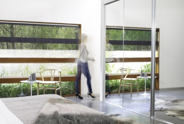 Sliding Robe Doors with Mirror Inserts | Bunbury City Glass