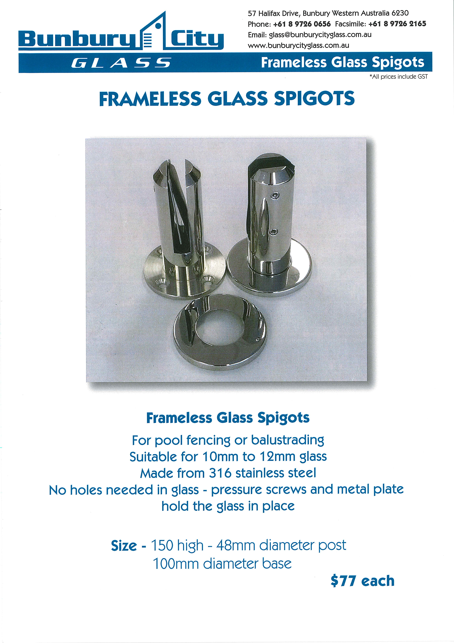 Bunbury City Glass | Pool Glass