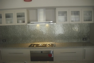 Patterned Glass Splashback | Bunbury City Glass
